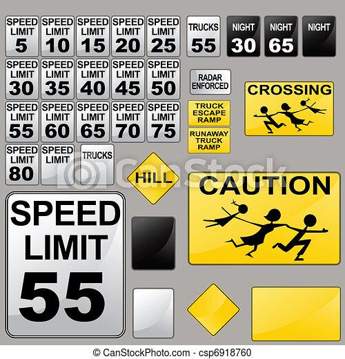 Road Signs - csp6918760