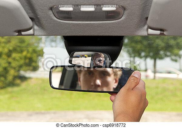 Rear view mirror - csp6918772