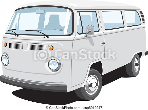 Passenger and cargo van - csp6919247