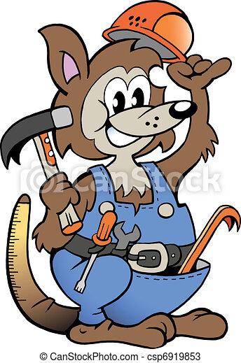 Kangaroo Handyman  - csp6919853
