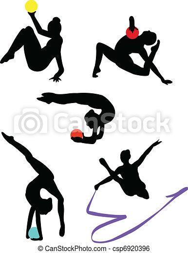 Rhytmical gymnastics - csp6920396