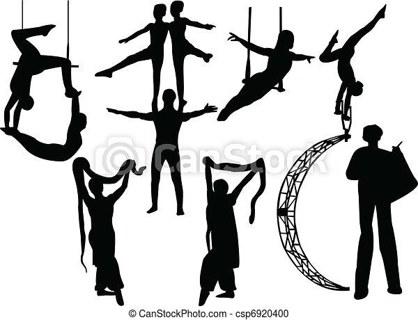 circus artists - csp6920400