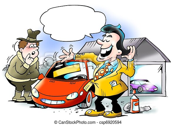 Swank car seller cheating customer - csp6920594