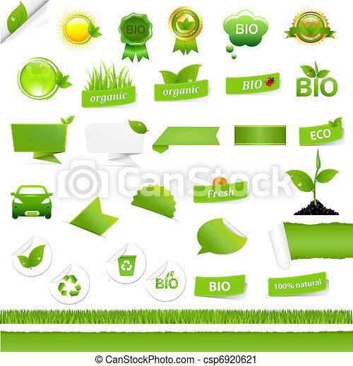 Bio Signs Set - csp6920621