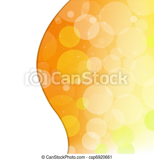 Abstract Orange Background - csp6920661