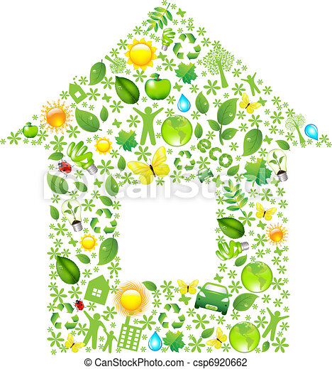 Eco House - csp6920662