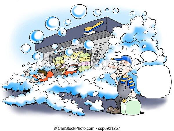 Auto richtig waschen