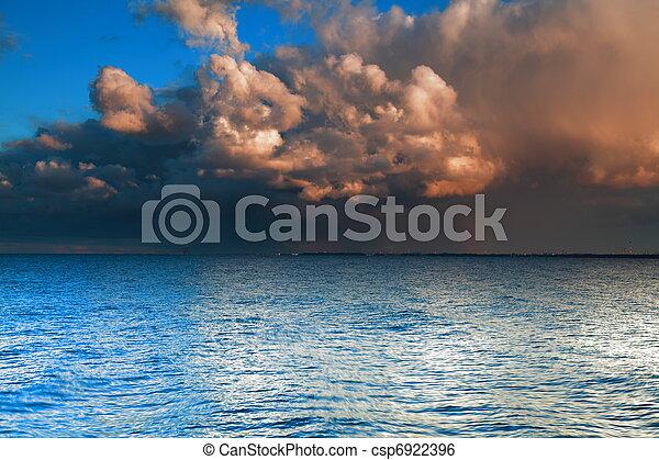 Stock de fotos azul, mar, cielo, Tormenta, tempestad- - Imagenes