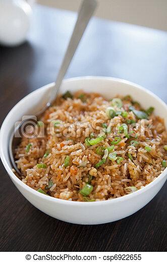 Singaporean fried rice - csp6922655