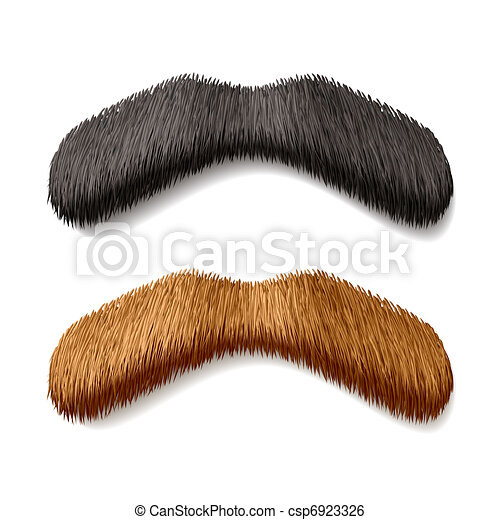 Fake mustaches - csp6923326