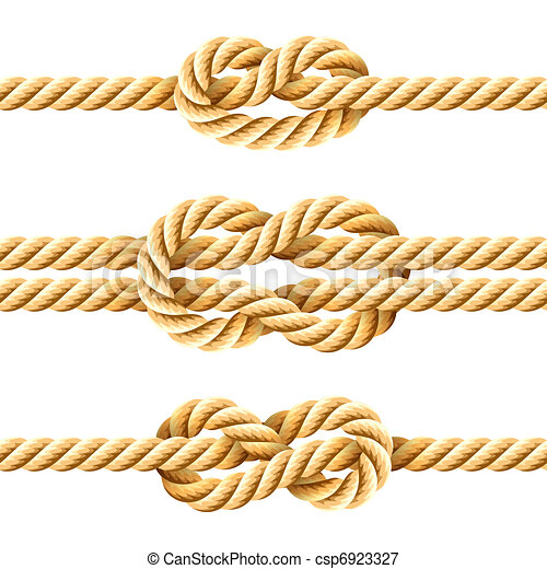 Rope knots - csp6923327