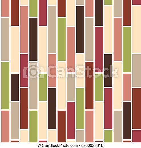 Seamless with vertical bricks - csp6923816