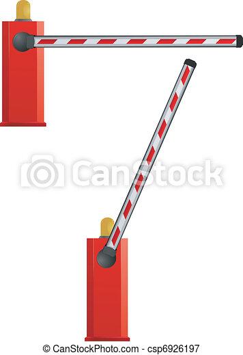 Vector barrier - csp6926197