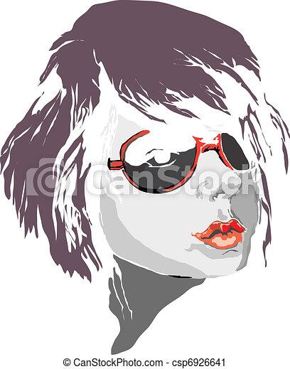 Face - csp6926641