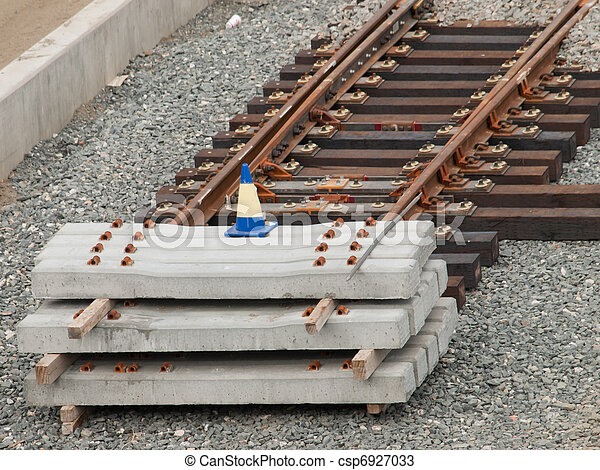 Railroad track - csp6927033