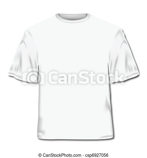 T-shirt. Vector Illustration - csp6927056