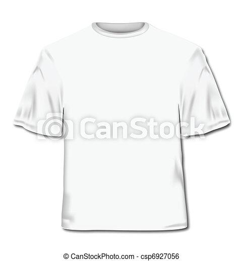 T-shirt. Vector Illustration - csp6927056
