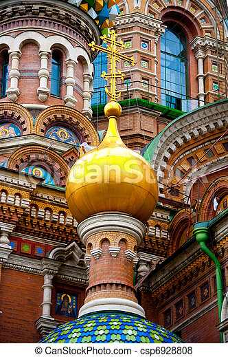 Church of the savior on spilled blood - csp6928808