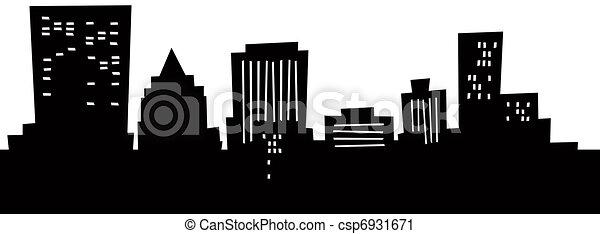 clipart of cartoon dayton skyline cartoon skyline Seattle Rainier Skyline Silhouette seattle city skyline vector free