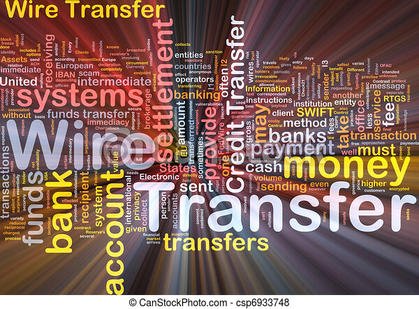 wire transfer auf deutsch