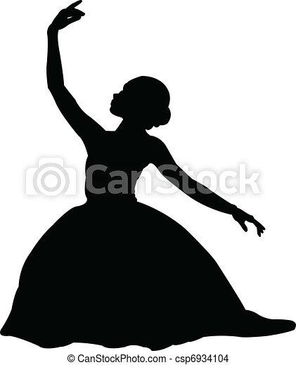 ballerina 3 - vector - csp6934104