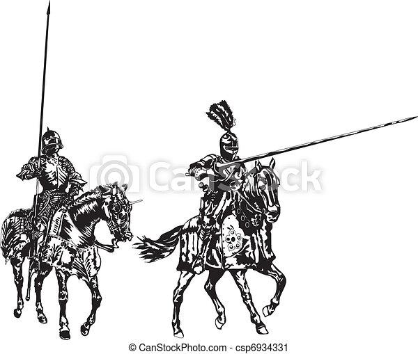 knights - csp6934331