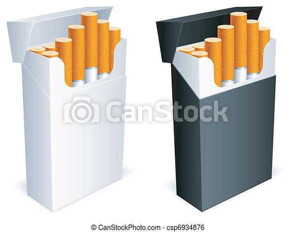 Cigarette pack. - csp6934876