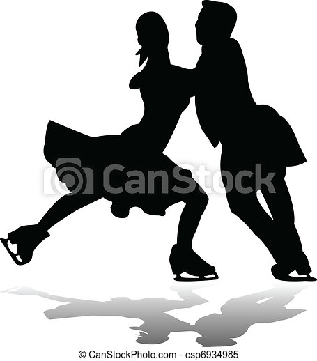 Ice skating Clip Art and Stock Illustrations. 9,960 Ice skating ...