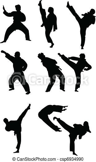 Taekwondo collection - csp6934990