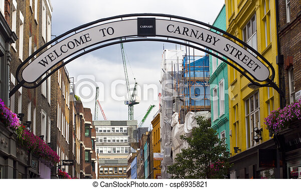 carnaby street - csp6935821