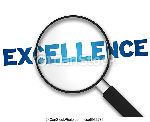 Magnifying Glass - Excellence - csp6938736