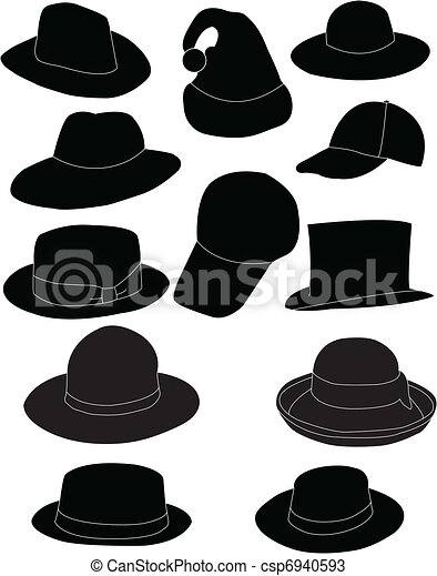 Collection of hats - csp6940593