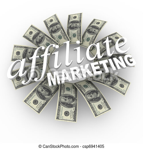 Affiliate Marketing Referral Network Money Generating Plan - csp6941405