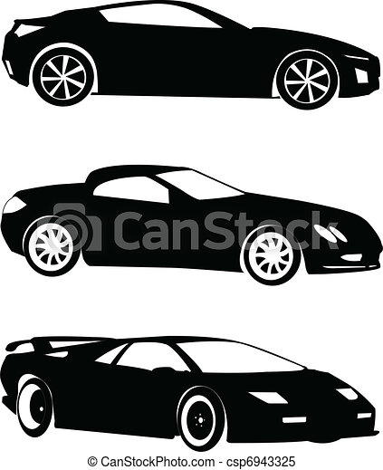 cars collection - vector - csp6943325