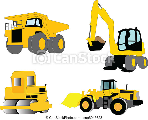 construction machine - csp6943628