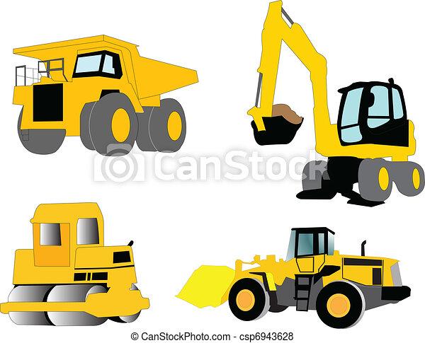 construction machine  - csp6943628