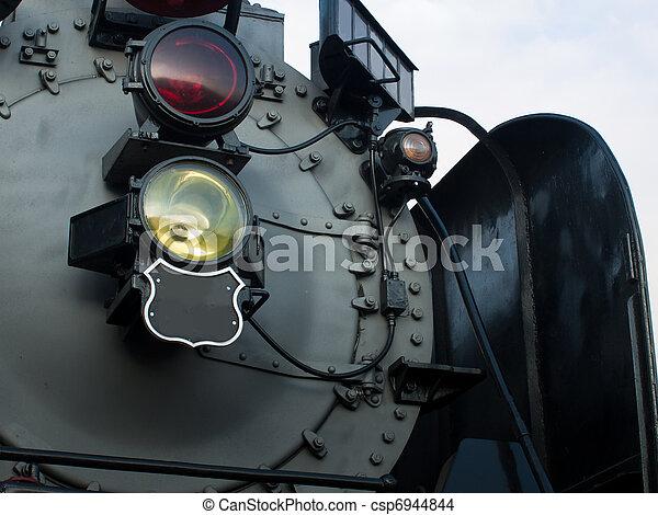 Steam Locomotive - csp6944844