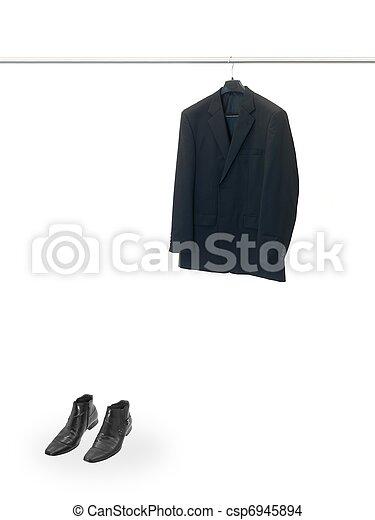 Hanging Garments - csp6945894