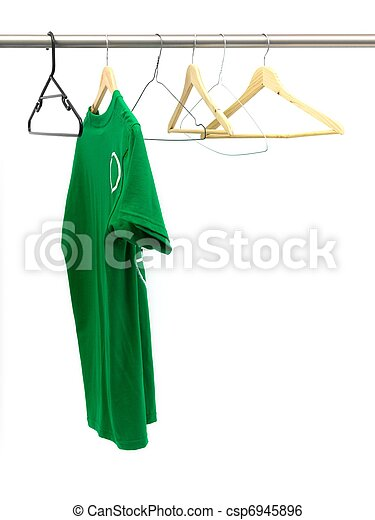 Hanging Garments - csp6945896