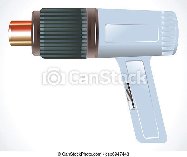 detailed hair dryer - csp6947443