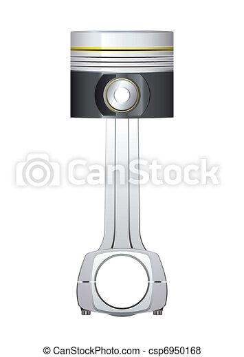Engine piston - csp6950168