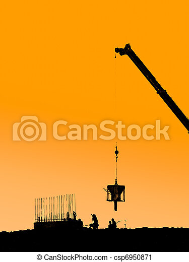 Construction site - csp6950871