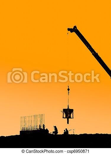 Construction site - csp6950871