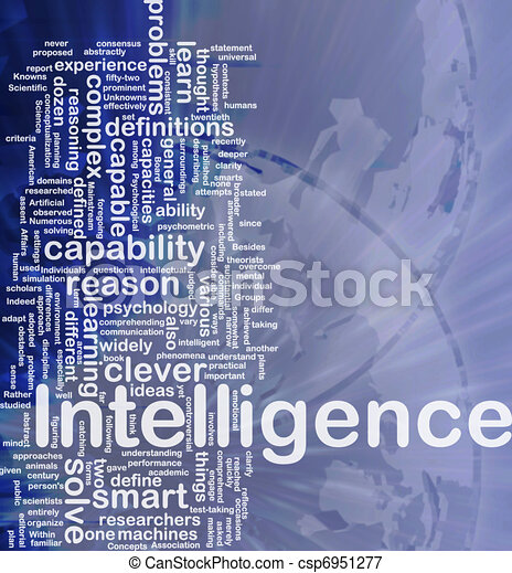 Intelligence background concept - csp6951277