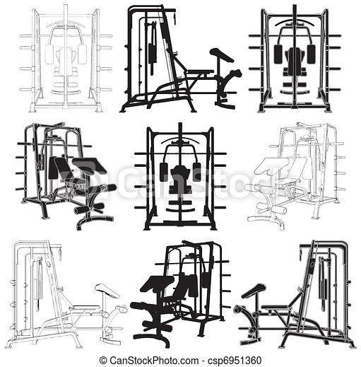 Fitness Home Simulator Gym - csp6951360