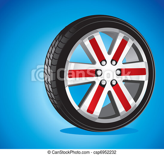 automotive wheel  - csp6952232