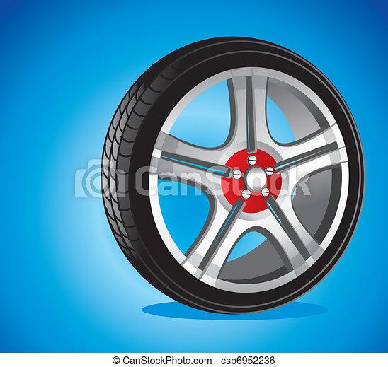 automotive wheel  - csp6952236