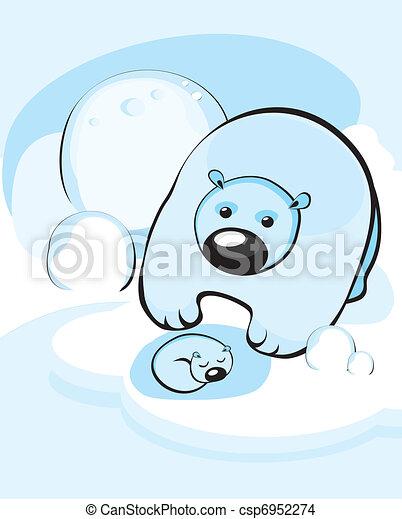 bear cub  - csp6952274
