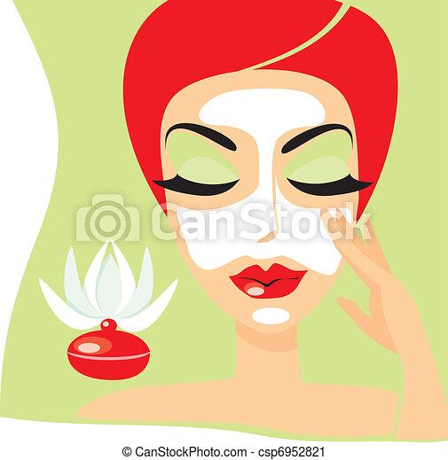 Las máscaras de vitaminas para los párpados