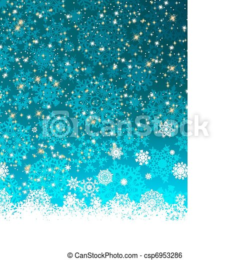Christmas decoration background. EPS 8 - csp6953286